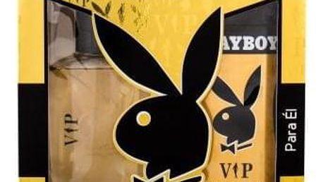 Playboy VIP For Him dárková kazeta pro muže toaletní voda 100 ml + sprchový gel 250 ml