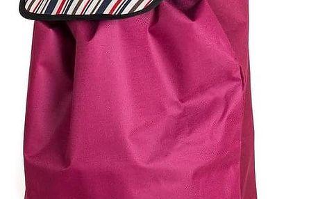 Nákupní taška na kolečkách Carrie, stripes