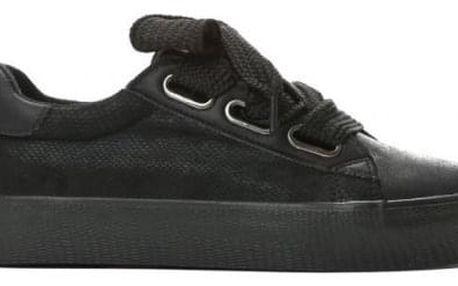 Dámské černé tenisky Model 8382