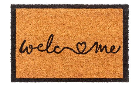 Trade Concept Kokosová rohožka Welcome Love, 40 x 60 cm