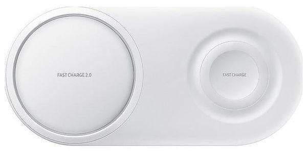 Bezdrátová nabíječka Samsung Duo Pad bílá (EP-P5200TWEGWW)