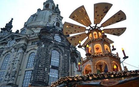 Advent v Drážďanech a v zahradě zámku Pillnitz