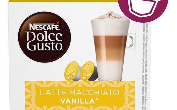 Kapsle pro espressa NESCAFÉ Dolce Gusto® Latte Macchiato Vanilla kávové kapsle 16 ks