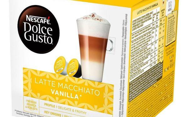 Kapsle pro espressa NESCAFÉ Dolce Gusto® Latte Macchiato Vanilla kávové kapsle 16 ks3