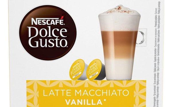 Kapsle pro espressa NESCAFÉ Dolce Gusto® Latte Macchiato Vanilla kávové kapsle 16 ks4