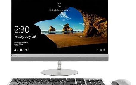 Počítač All In One Lenovo IdeaCentre AIO 520-22IKU stříbrný (F0D500APCK)