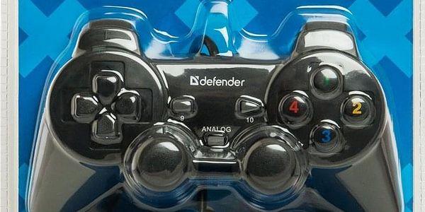Gamepad Defender Omega pro PC (64247) černý3