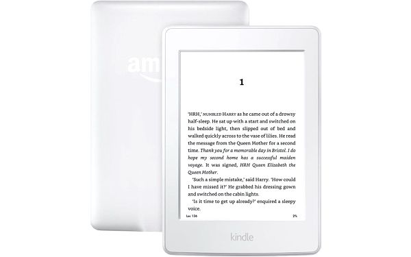 Čtečka e-knih Amazon KINDLE PAPERWHITE 3 2015 bez reklam (EBKAM1141) bílá2