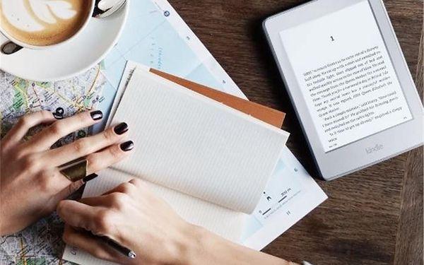 Čtečka e-knih Amazon KINDLE PAPERWHITE 3 2015 bez reklam (EBKAM1141) bílá3