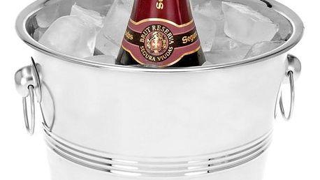EH Excellent Houseware Stojan na chlazení šampaňského, alkoholu - nerezová ocel
