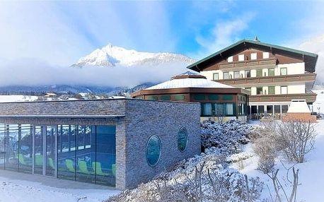 Rakousko u skiareálů v Hotelu Berghof Mitterberg *** s polopenzí a wellness