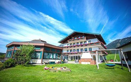 Rakousko v Hotelu Berghof Mitterberg *** s wellness a bazénem, letní kartou plnou slev + polopenze