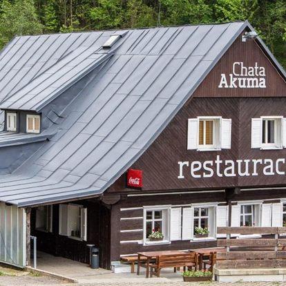Chata se snídaněmi či polopenzí v Krkonoších