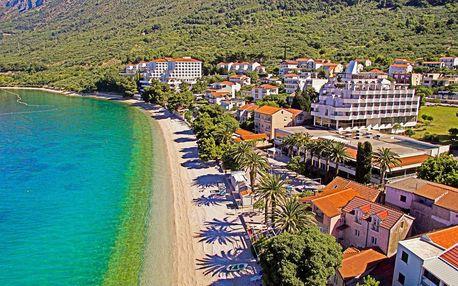 8–10denní Chorvatsko, Gradac   Hotel Laguna – Gradac** 50 m od pláže   Dítě zdarma   Polopenze nebo All inclusive light   Autobusem nebo vlastní doprava