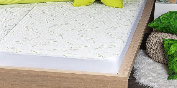 4Home Bamboo Chránič matrace s lemem, 200 x 200 cm2