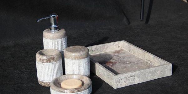 Indera White 57077 Kamenná koupelnová sada2
