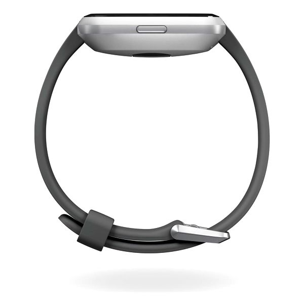 Chytré hodinky Fitbit Versa Lite - Charcoal Band / Silver Case (FB415SRGY)5