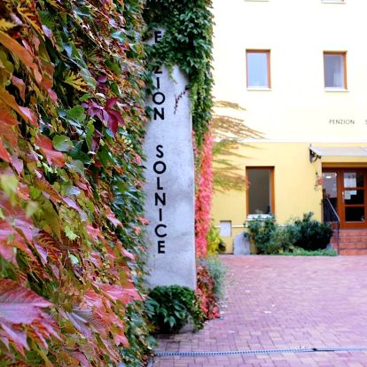 Znojmo: Penzion Solnice