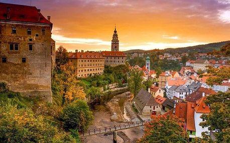 Jižní Čechy v Hotelu Corona **** s polopenzí a privátním wellness + děti zdarma