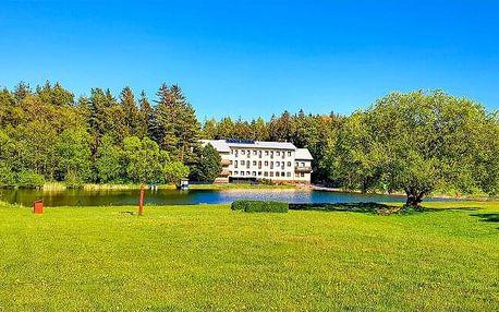 Vysočina v Hotelu Renospond s polopenzí, až 6 wellness procedurami a saunou + 2 děti do 12 let zdarma