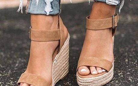 Dámské boty na klínu Elodie