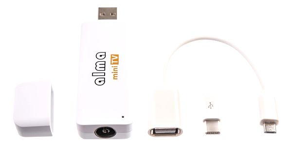 TV tuner ALMA mini TV, DVB-T2, H.265 (DBTALH1USB121) bílá4