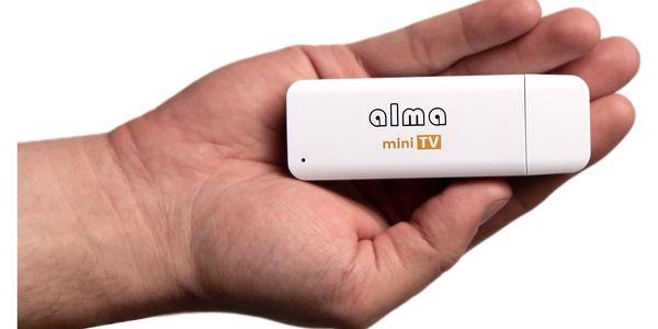 TV tuner ALMA mini TV, DVB-T2, H.265 (DBTALH1USB121) bílá5