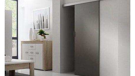 Posuvné dveře GREG 86 cm antracyt
