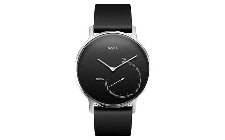 Chytré hodinky Nokia Activité Steel černé (HWA01-Black-All-Inter)