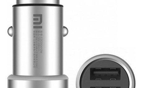Xiaomi Mi Car Charger stříbrný (12313)