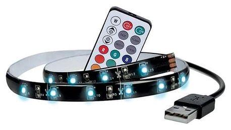 LED pásek Solight pro TV, 2x 50cm, RGB, USB, dálkový ovladač (WM504)