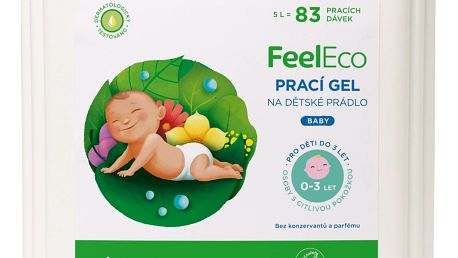 FEEL ECO Baby prací gel na dětské prádlo 5l