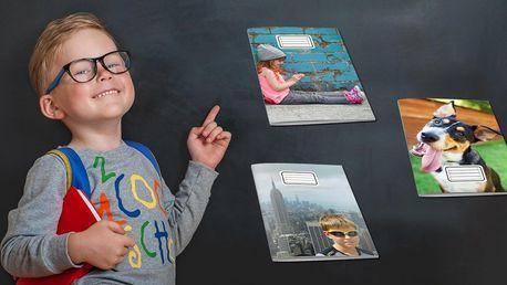 Školní sešit s vlastní obálkou