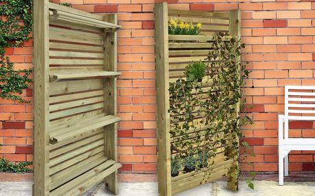 Vertikální záhon na zahradu, terasu nebo balkon