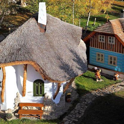 Rodinný pobyt v Pohádkové vesničce s polopenzí