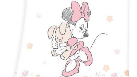 Herding Dětská deka Minnie Mouse, 75 x 100 cm
