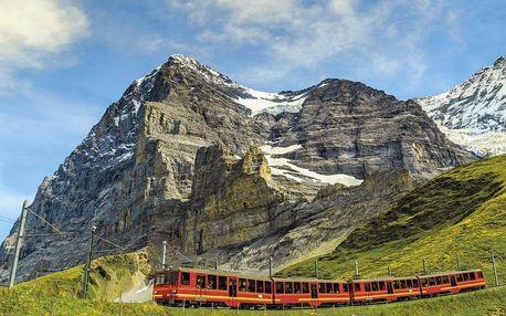 Švýcarsko autobusem na 4 dny, snídaně v ceně