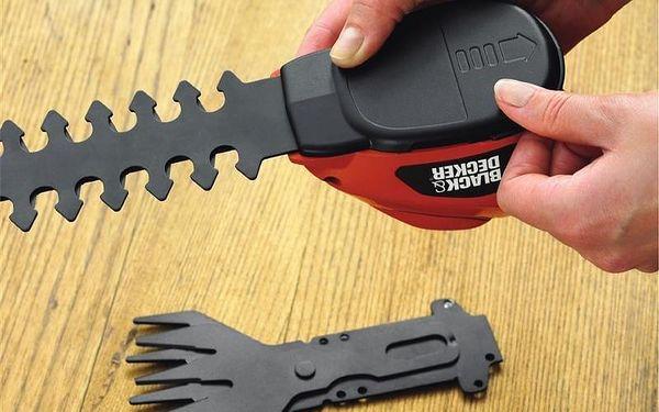 Nůžky na trávu Black-Decker GSL700 KIT5