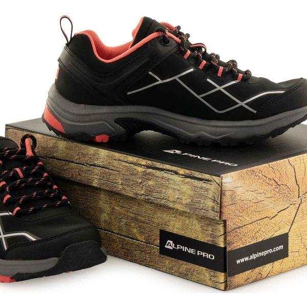 Dámská outdoorová obuv Alpine Pro Svata | Velikost: 36 | Šedá4