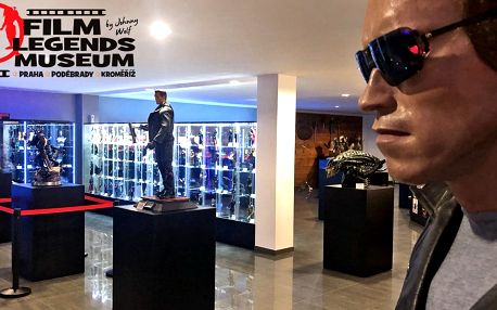 Vstup do nového Film Legends Musea v Kroměříži