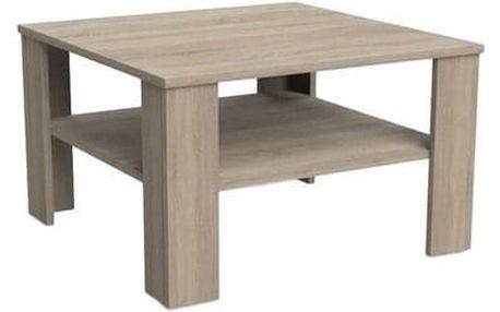 Konferenční stolek TINA 70x70 cm dub sonoma