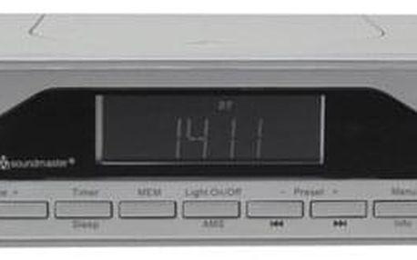 Radiopřijímač s DAB Soundmaster UR2040SI stříbrný