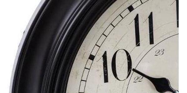 Atmosphera Nástěnné retro hodiny, ideální a tiché hodiny s nebývalým grafickým designem2