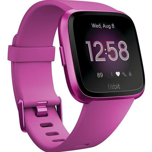 Chytré hodinky Fitbit Versa Lite - Mulberry Case / Mulberry Band (FB415PMPM)4