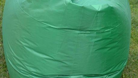 Sedací vak Lazy Bag HooUp dark green