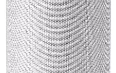 Hlasový asistent Amazon Echo Sandstone (2.generace) bílý + dárek Adaptér C-Tech univerzální, 110 - 230V, EU, US, AU bílý