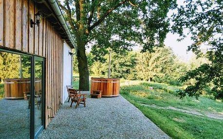 Jižní Čechy v resortu Andělský Dvůr s polopenzí, hřištěm a vyžitím pro děti