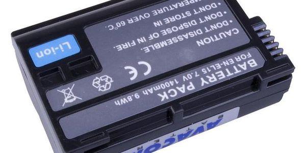 Baterie Avacom Nikon EN-EL15 Li-Ion 7.2V 1400mAh 9.8 Wh (DINI-EL15-853)2