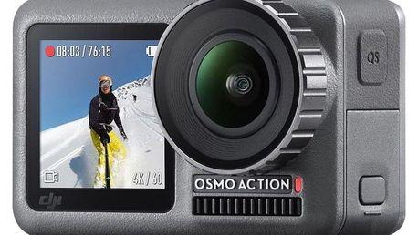 Outdoorová kamera DJI OSMO ACTION šedá (DJI0630)