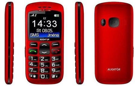 Aligator A670 Senior červený (A670R)